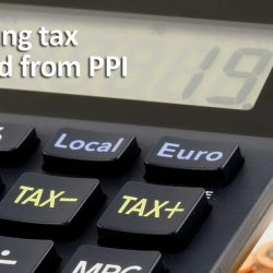 Reclaiming tax on PPI