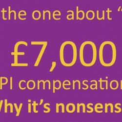 £7,000 nonsense